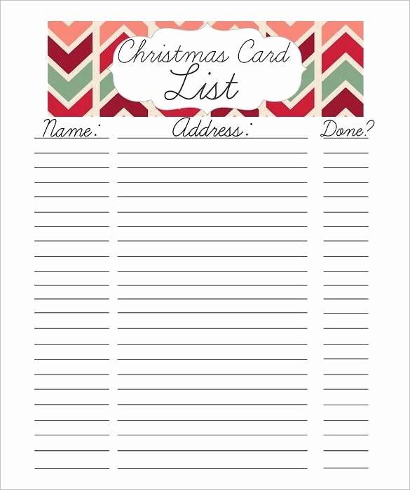 Gift Exchange Wish List Template Elegant 24 Christmas Gift List Templates Free Printable Word