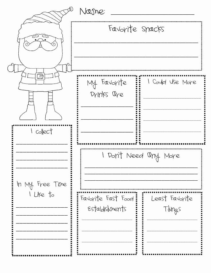 Gift Exchange Wish List Template Inspirational Best 25 Secret Santa Questionnaire Ideas On Pinterest