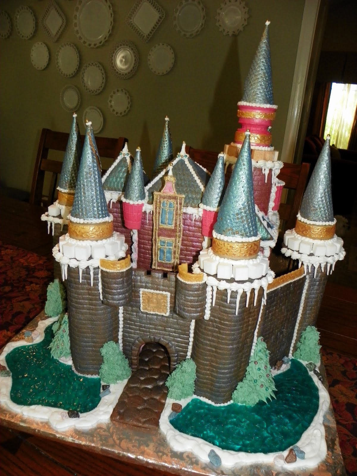 Gingerbread Castle Template Awesome Plumeria Cake Studio Gingerbread Castle 2010