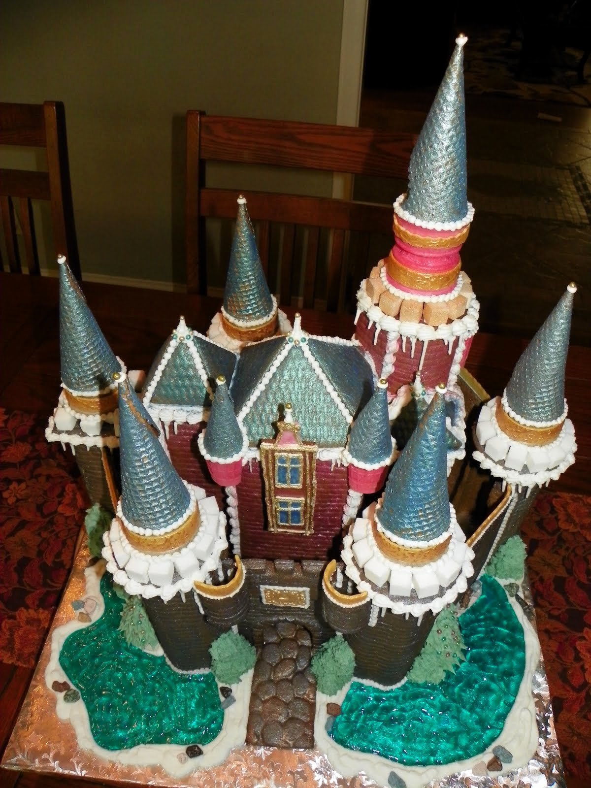 Gingerbread Castle Template Best Of Plumeria Cake Studio Gingerbread Castle 2010