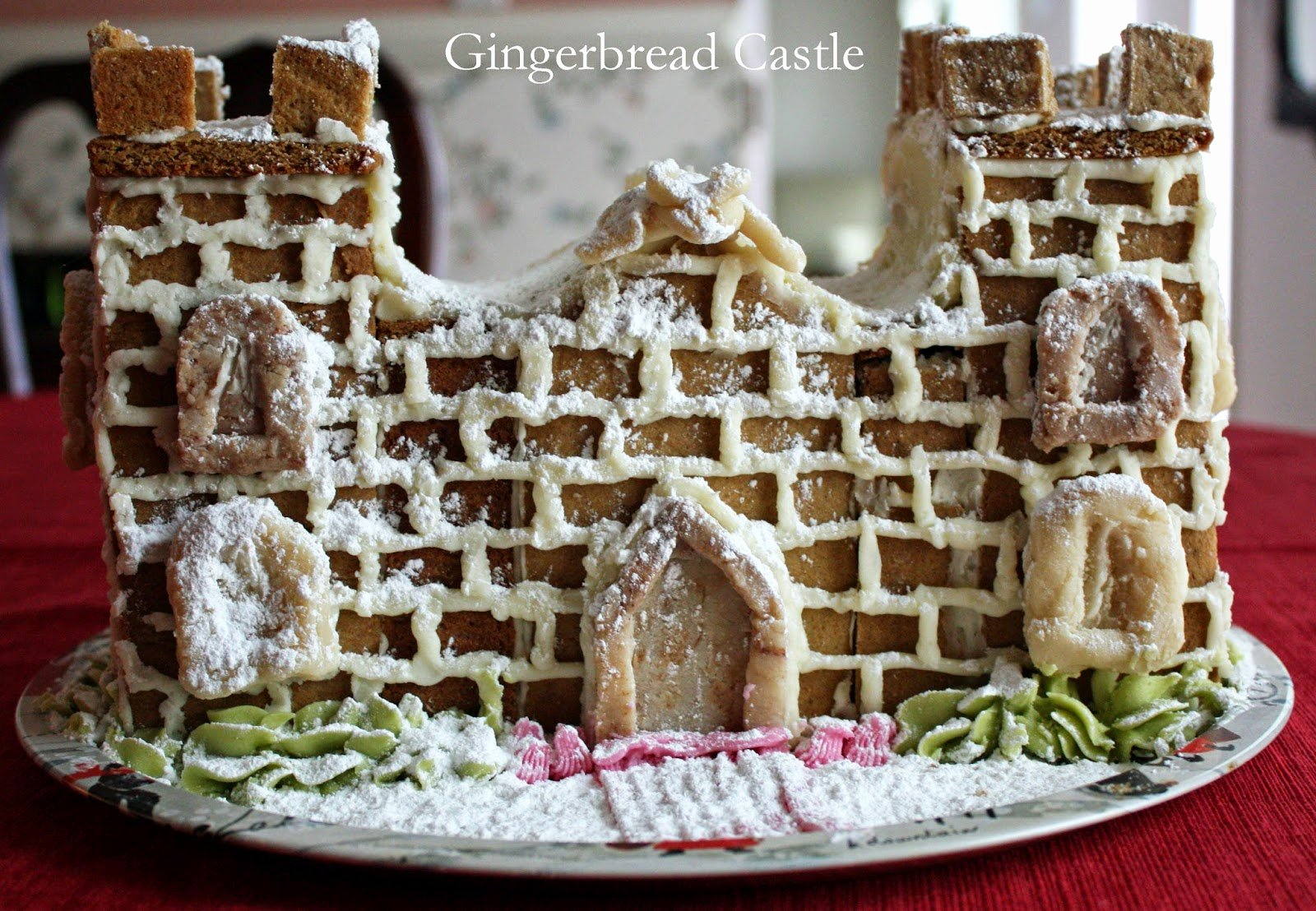 Gingerbread Castle Template Inspirational How to Make A Gingerbread House Castle