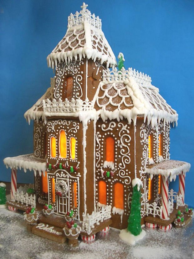 Gingerbread Castle Template Lovely 38 Simple & Inspiring Gingerbread House Ideas Snappy