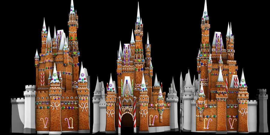 Gingerbread Castle Template Lovely Sneak Peek Holiday Surprises Ing to 'the Magic the