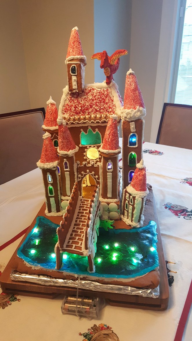Gingerbread Castle Template New 2016 Gingerbread Castle – Little Biddle Bakery