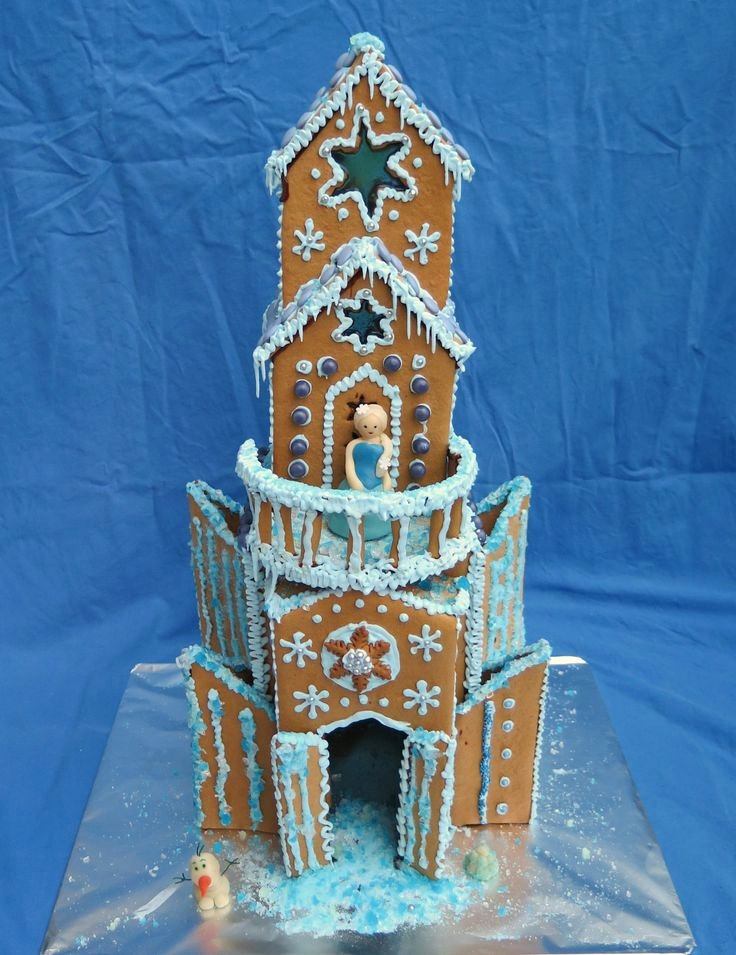 Gingerbread Castle Template Unique 617 Best Gingerbread Houses Images On Pinterest