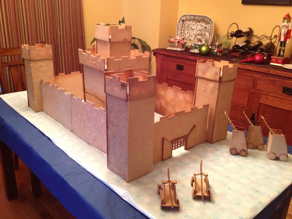 Gingerbread Castle Template Unique Project