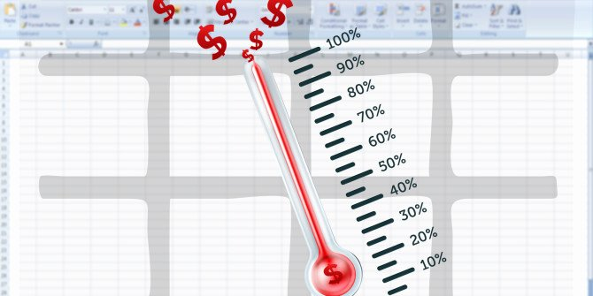 Goal thermometer Template Excel Lovely How to Create Your Custom Excel Fundraising thermometer