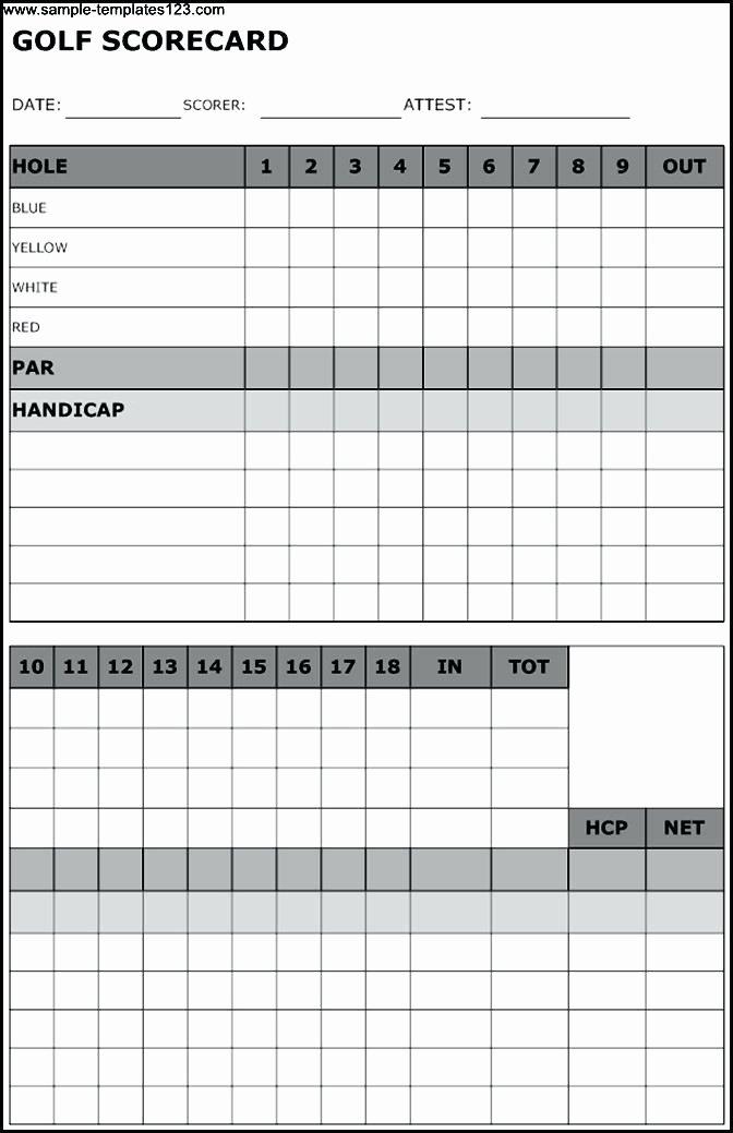 Golf Scorecard Template Beautiful Golf Scorecards Printable Hashtag Bg