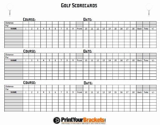 Golf Scorecard Template Excel Unique Best 25 Golf Scorecard Ideas On Pinterest