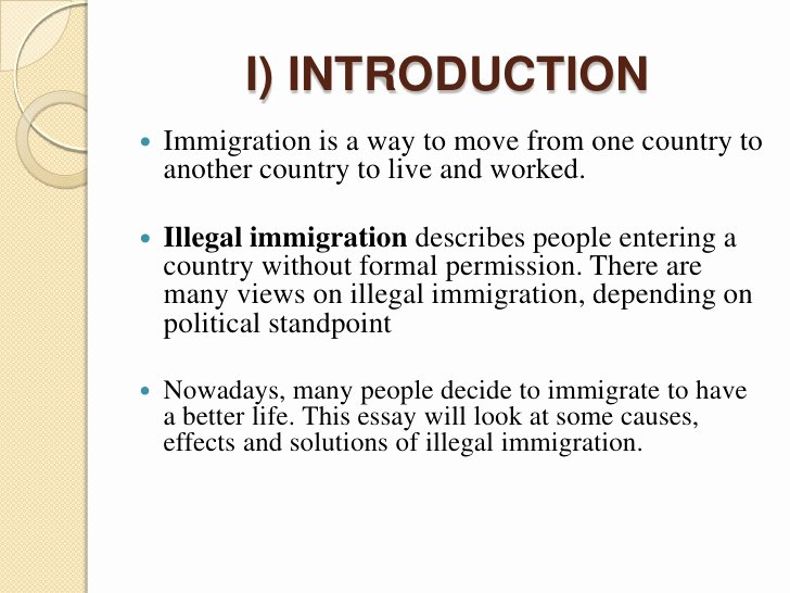 Good Title for Immigration Essay Best Of Short Essay On Immigration
