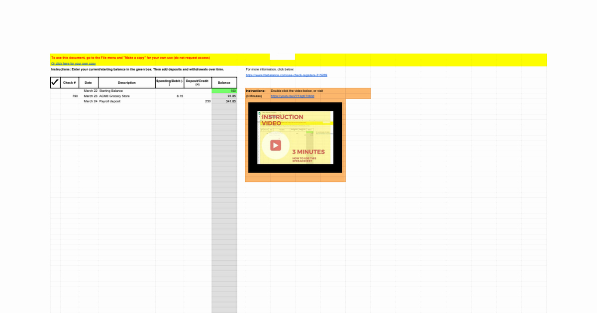 Google Docs Check Register Beautiful Check Register Template Google Sheets