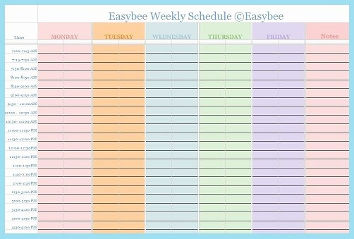 Google Docs Itinerary Template Awesome Schedule Template Google Docs