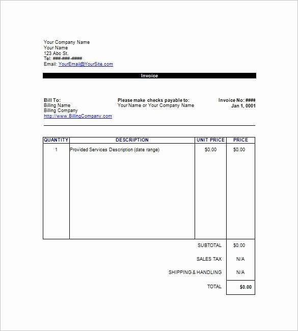 Google Docs Receipt Template Lovely Google Invoice Templates Free Download Invoice Template