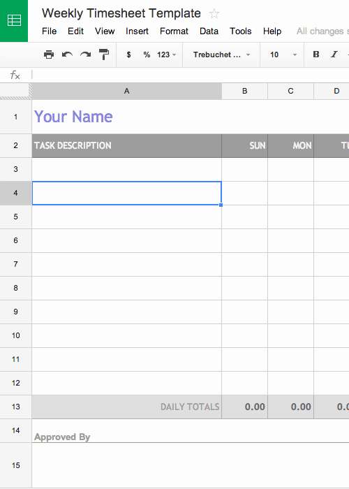 Google Sheet Invoice Template New Free Invoice & Timesheet Templates Cashboard