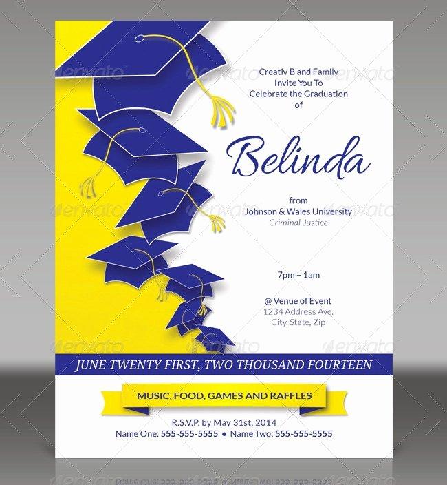 Graduation Card Template Word Best Of 25 Graduation Invitation Templates Psd Vector Eps Ai
