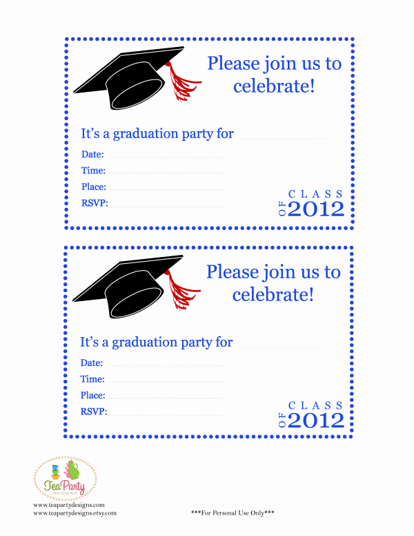 Graduation Card Template Word Best Of Free Print Graduation Announcements Template Invitation