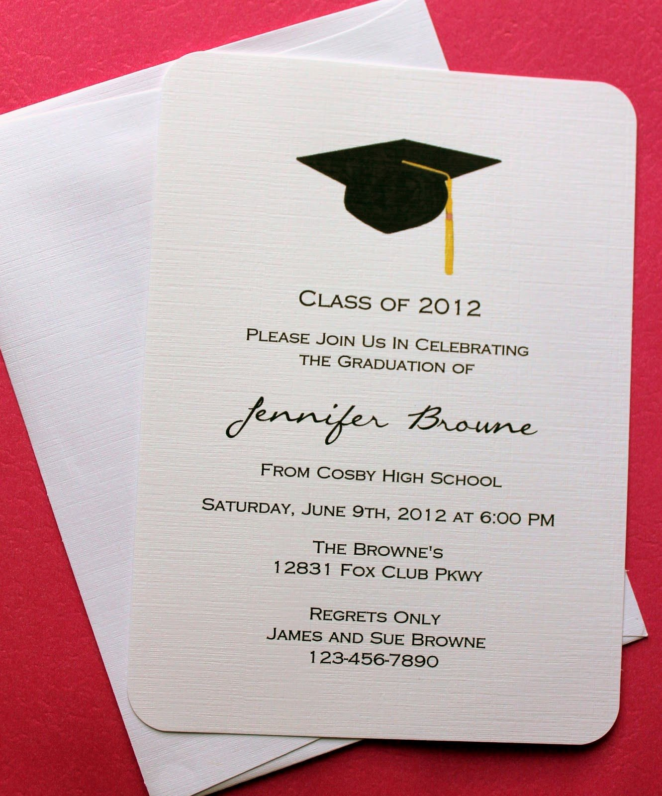 Graduation Card Template Word Lovely Graduation Invitation Template Graduation Invitation