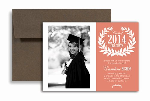 Graduation Card Template Word Luxury 2019 S Templates Graduation Party Invitation 7x5 In