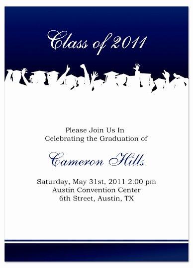 Graduation Card Template Word Unique Graduation Announcement Templates Free Invitation Template