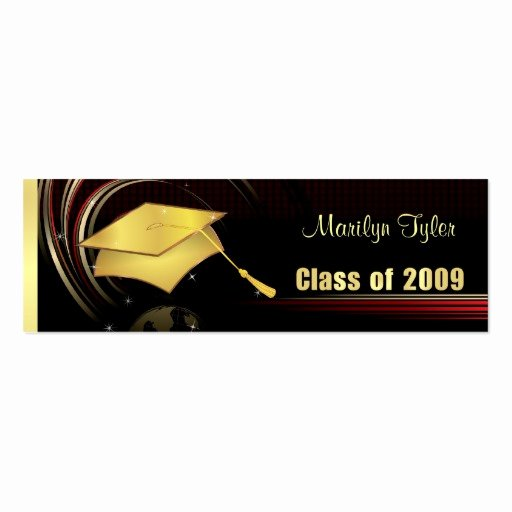 Graduation Name Cards Template Awesome Graduation Name Cards Business Card Templates Page2