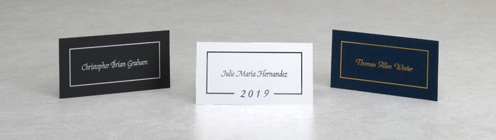 Graduation Name Cards Template Best Of Name Cards for Graduation