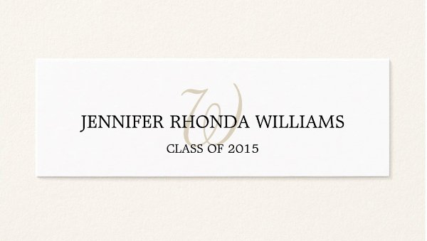 Graduation Name Cards Template Elegant 7 Graduation Name Cards Free Psd Vector Eps Png