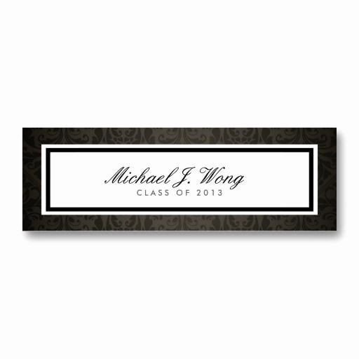 Graduation Name Cards Template Fresh 1000 Images About Name Cards for Graduation Announcements