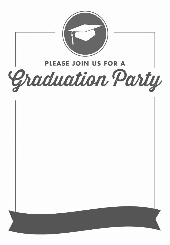 Graduation Name Cards Template Inspirational Blank Graduation Invitation Templates