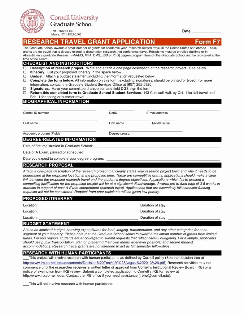 Grant Application form Template Beautiful 9 Funding Application form Templates Free Pdf Doc