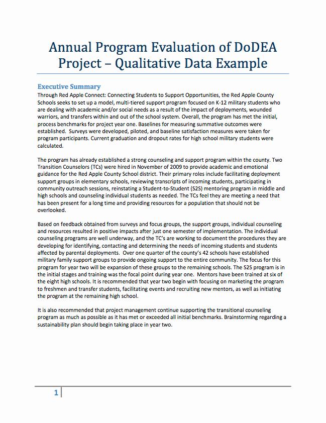 Grant Report Sample Beautiful Evaluation Resources