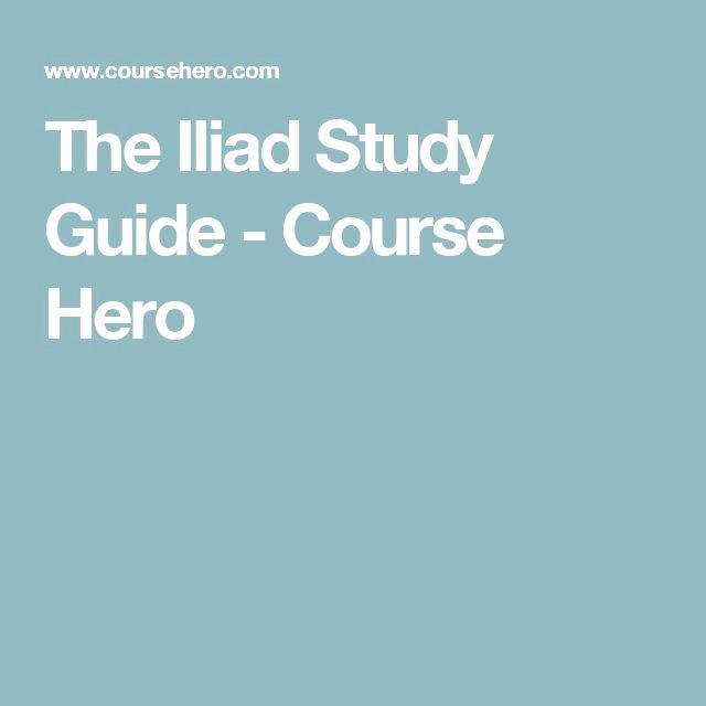 Grapes Of Wrath Litcharts Awesome the Iliad Study Guide Course Hero