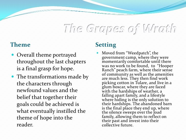 Grapes Of Wrath Litcharts Luxury the Grapes Of Wrath Symbolism Frudgereport294 Web Fc2