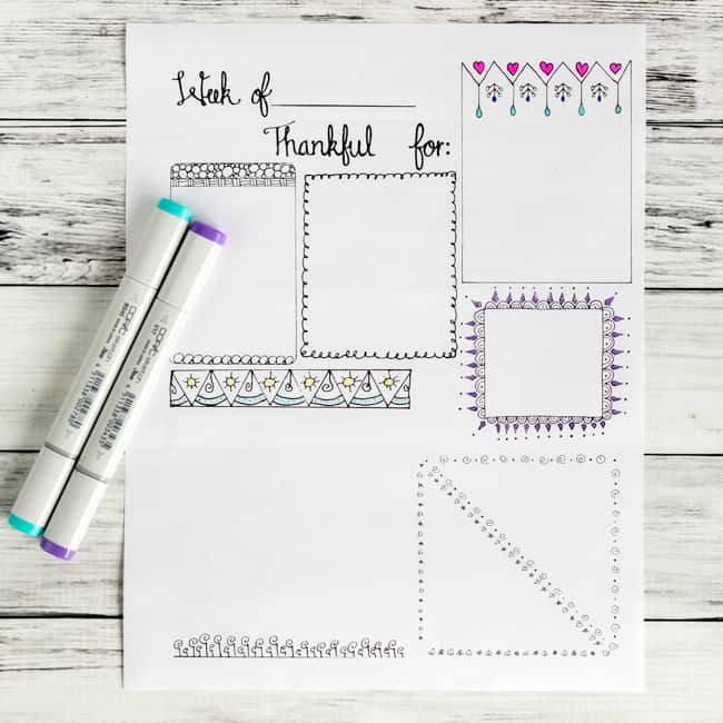 Gratitude Journal Template Free Beautiful Free Printable Gratitude Journal Page