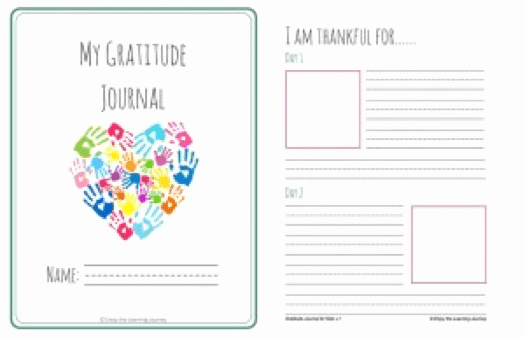 Gratitude Journal Template Free Best Of 10 Ways to Foster Generosity In Your Students Weareteachers