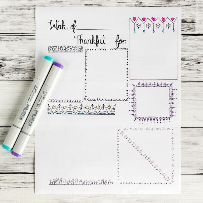 Gratitude Journal Template Free Elegant Free Printable Gratitude Journal Page