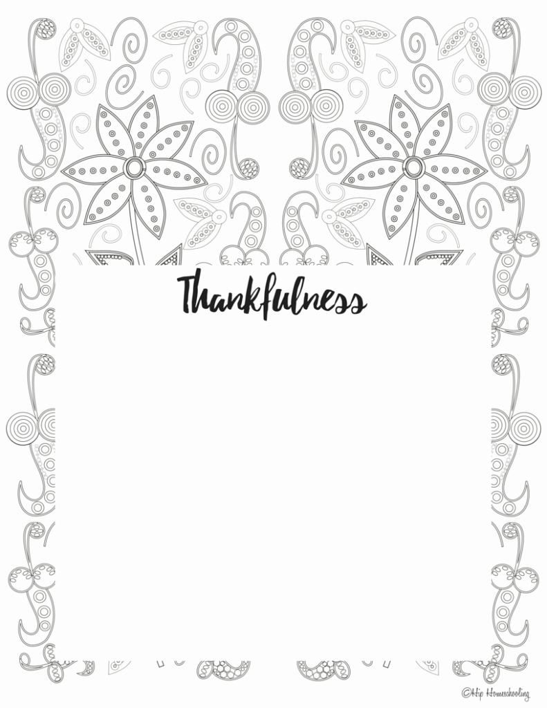 Gratitude Journal Template Free Inspirational Free Gratitude Journal Template Plus Coloring Page