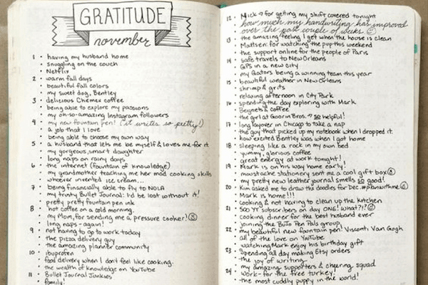 Gratitude Journal Template Free Inspirational Gratitude Journal 67 Templates Ideas and Apps for Your