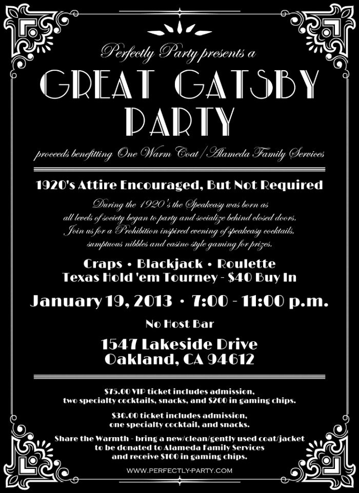 """Great Gatsby Party Invitation Template Free Best Of Lost In Translation why I Won T Be attending Your """"gatsby"""