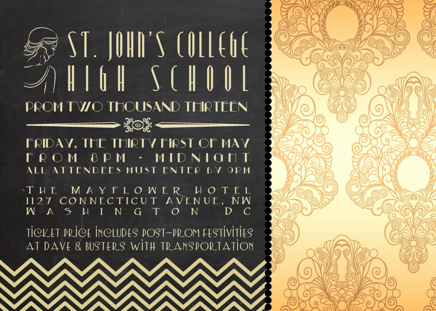 Great Gatsby Party Invitation Templates Inspirational Great Gatsby Birthday Party Invitations