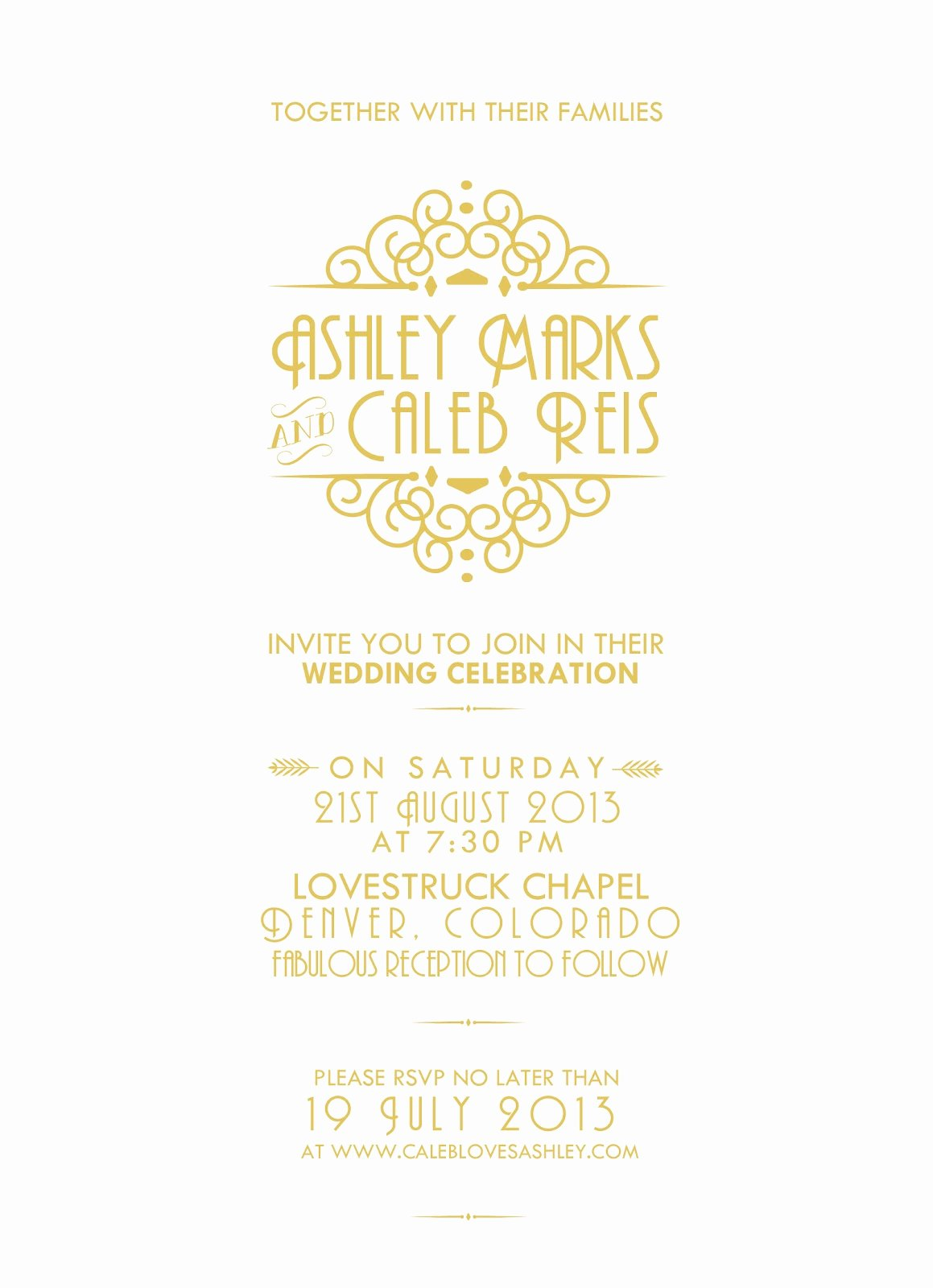 Great Gatsby Party Invitation Templates Luxury Gatsby Invitation Template