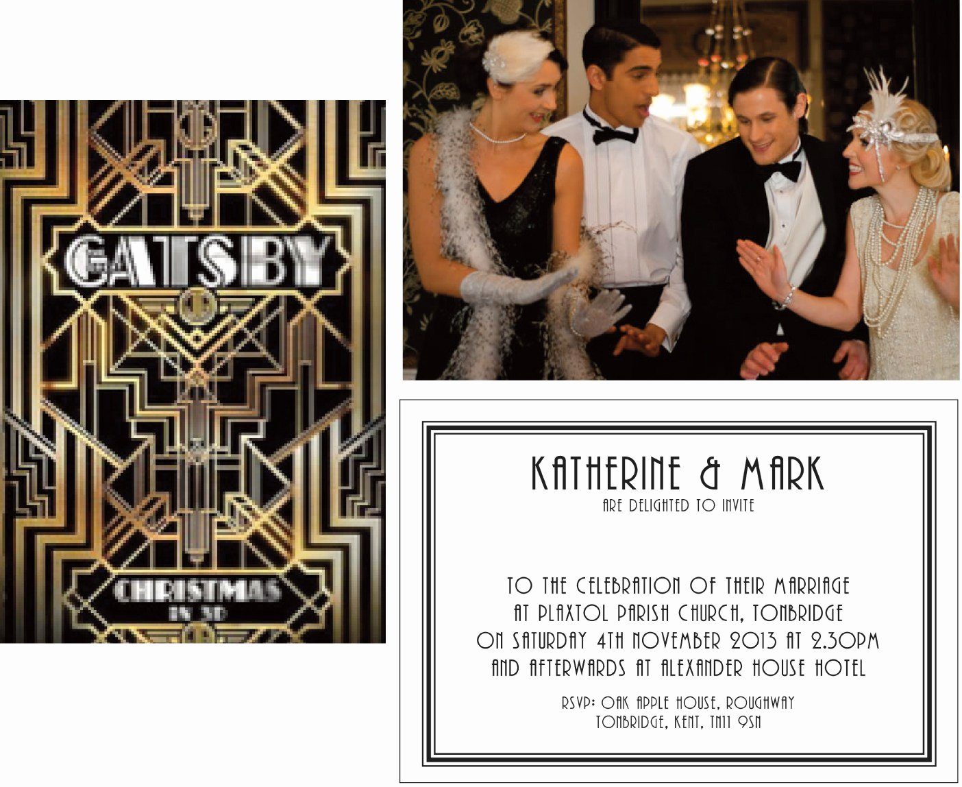 Great Gatsby Party Invitation Templates Luxury Great Gatsby themed Occassions