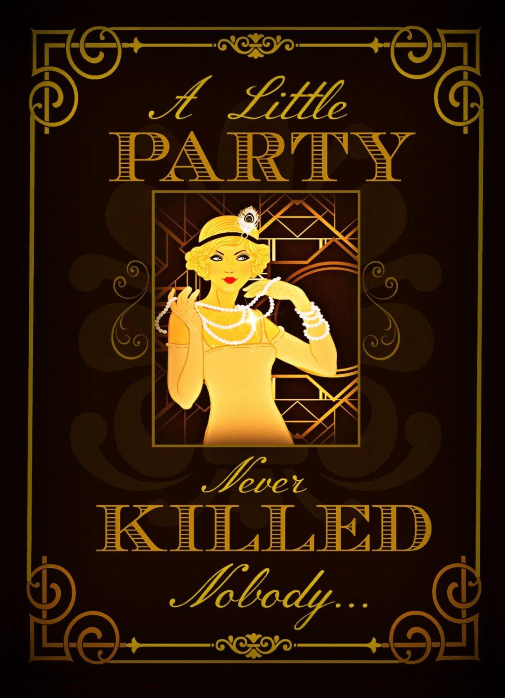 Great Gatsby Party Invitation Templates Unique Great Gatsby Party Invitations