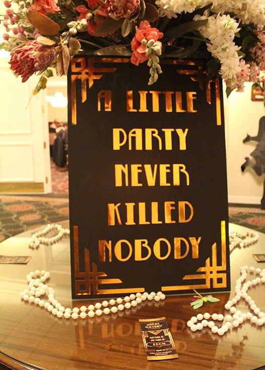 Great Gatsby Prom Invitations Inspirational Students Enjoy Great Gatsby themed Prom 2016 Villa Maria