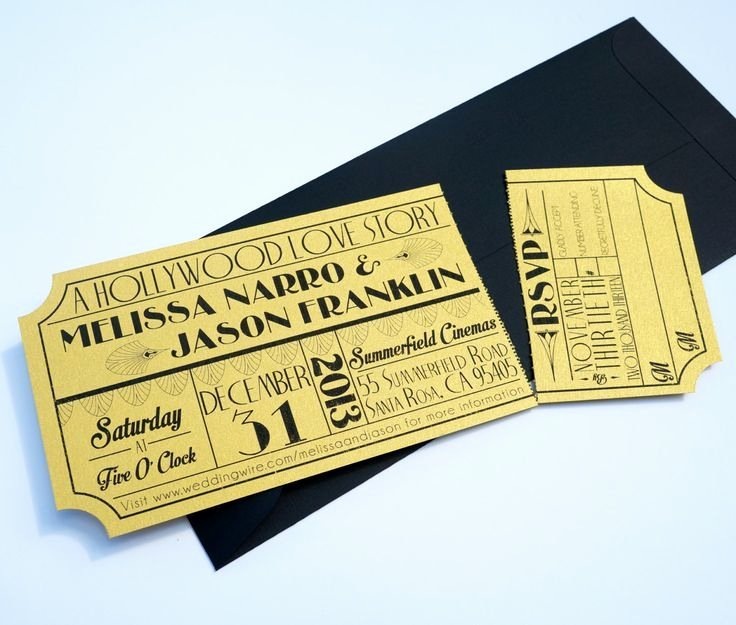 Great Gatsby Ticket Template Best Of Blank Movie Ticket Invitation Template Free Download Aashe