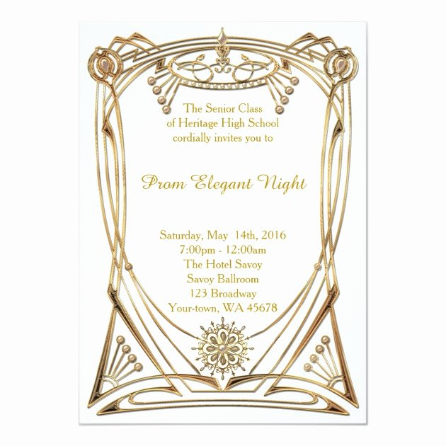 Great Gatsby Ticket Template New Personalized Great Gatsby Party Invitations