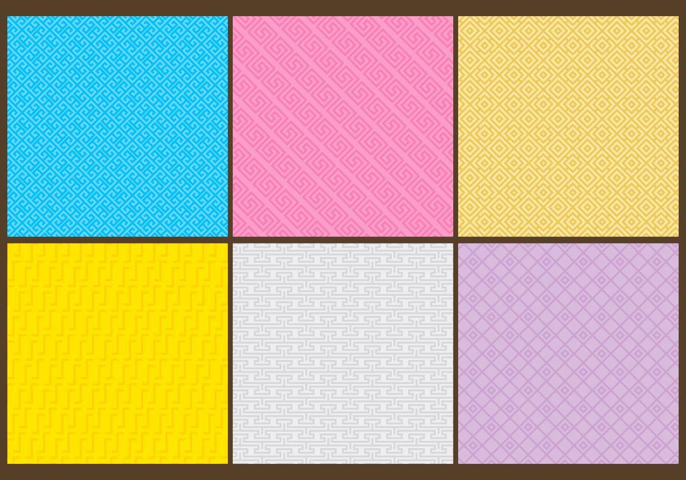 Greek Key Pattern Template Beautiful Greek Key Patterns Download Free Vector Art Stock