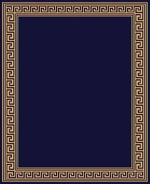 Greek Key Pattern Template Elegant Modern Greek Key Design Traditional Affordable 5x8 Navy