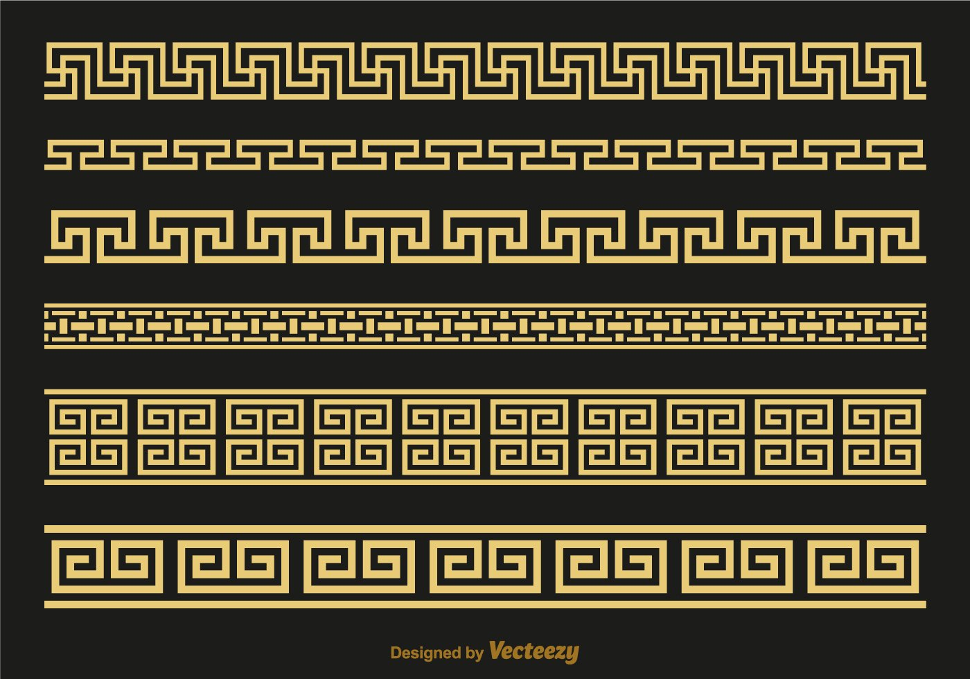 Greek Key Pattern Template Fresh Versace Greek Key Brushes Vector Download Free Vector