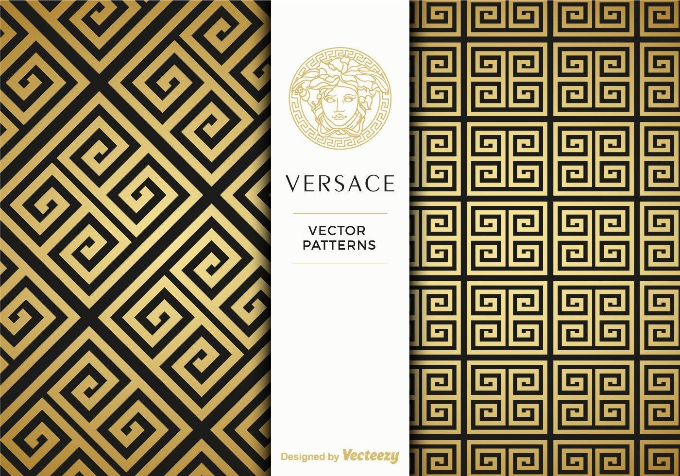 Greek Key Pattern Template Inspirational Free Versace Golden Vector Patterns Download Free Vector