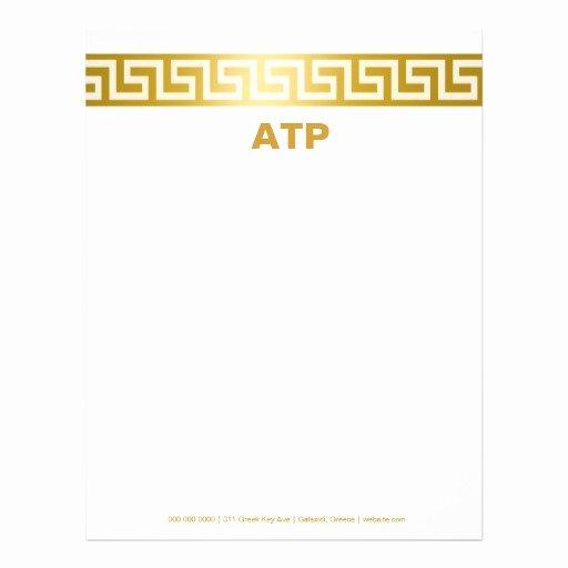 Greek Key Pattern Template Luxury 311 Golden Greek Key Letterhead